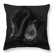 After Midnight Throw Pillow by M Montoya Alicea
