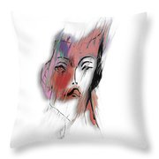 After Party Throw Pillow