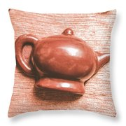 After Tea Confection Throw Pillow