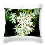 After The Battle Comes The Beauty Of Floral Blessings Throw Pillow