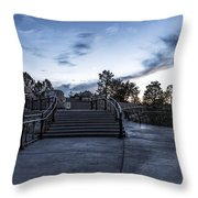 After The Crowds Have Left Throw Pillow