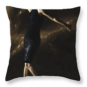 After The Dance Throw Pillow by Richard Young
