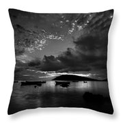 After The Day The Night Shall Come Throw Pillow
