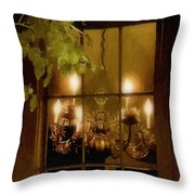 After The Feast Throw Pillow