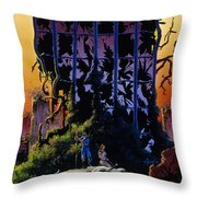 After The Flames Throw Pillow
