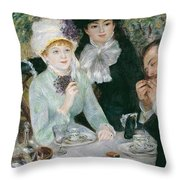 After The Luncheon Throw Pillow
