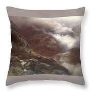 After The Massacre Of Glencoe  Throw Pillow