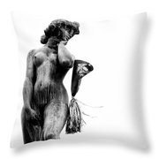 After The Party Throw Pillow by Dave Bowman