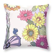 After The Rain Throw Pillow by Melodye Whitaker