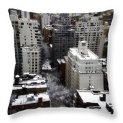 After The Snow Storm Throw Pillow