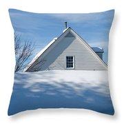 After The Snowfall Throw Pillow