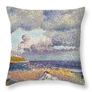 After The Storm The Bather Throw Pillow