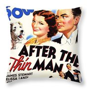 After The Thin Man 1935 Throw Pillow