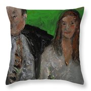 After The Wedding Throw Pillow