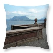 Afternoon At The Lake Throw Pillow