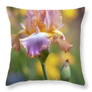 Afternoon Delight. The Beauty Of Irises Throw Pillow