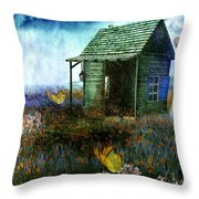 Afternoon Deluge Throw Pillow
