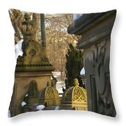 Afternoon In Central Park Throw Pillow