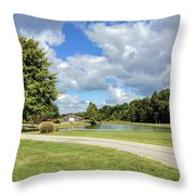 Afternoon In Tennessee Throw Pillow