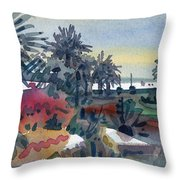 Afternoon In The Keys Throw Pillow