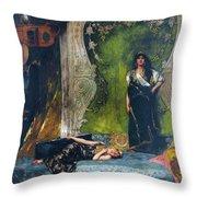 Afternoon Langour Throw Pillow