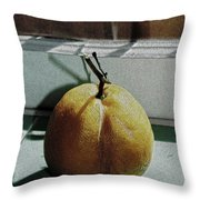Afternoon Lemon Throw Pillow