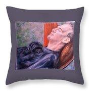 Afternoon Nap Throw Pillow