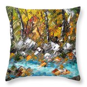 Afternoon Resting Place Throw Pillow