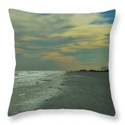 Afternoon Skies Throw Pillow