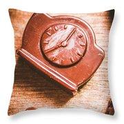 Afternoon Tea Time Throw Pillow