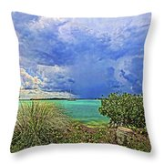 Afternoon Thunder Throw Pillow