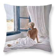 Afternoon View Throw Pillow by John Worthington