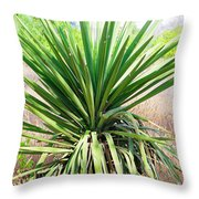 Afternoon Yucca Throw Pillow