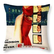 Against The House Film Noir  Throw Pillow