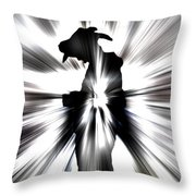 Against The Light Throw Pillow