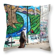 Against The Norm Throw Pillow