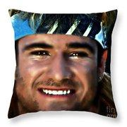Agassi Throw Pillow