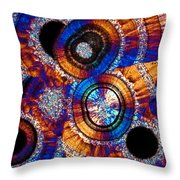 Agate 43 Throw Pillow
