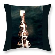 Agate Ceramic Bottle Throw Pillow