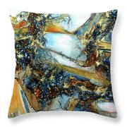 Agate Geode Throw Pillow