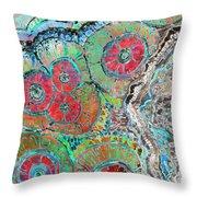 Agate Inspiration - 16b  Throw Pillow
