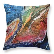 Agate Inspiration - 21a Throw Pillow