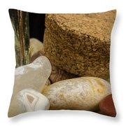 Agates Throw Pillow
