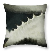Agave Impression Two Throw Pillow by Carol Leigh