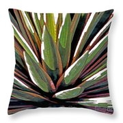 Agave Impressions 1 Throw Pillow