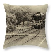 Age Of Steam Throw Pillow