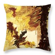 Age Of The Fall  Throw Pillow