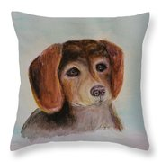 Age With Grace Throw Pillow