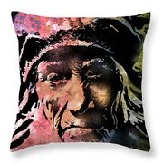 Aged In Wisdom Throw Pillow