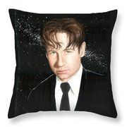 Agent Mulder Throw Pillow
